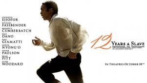 12 Years A Slave Promotional Poster